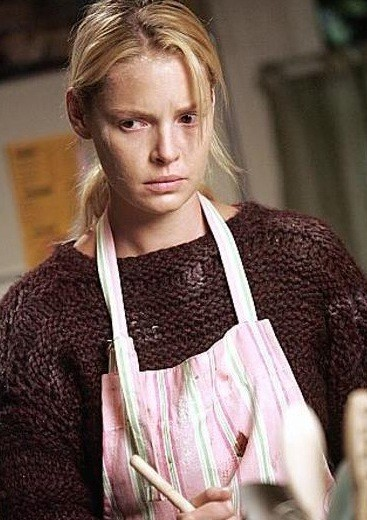 Izzie in Denny's Sweater