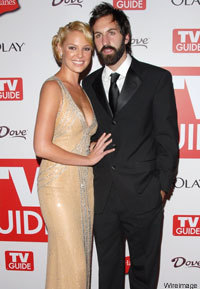 Katherine Heigl and Josh Kelly at the Emmys