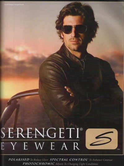 Patrick Dempsey For Serengeti