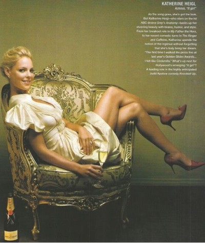 Katherine Heigl in Vanity Fair