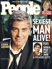 Clooney Edges Out Dempsey