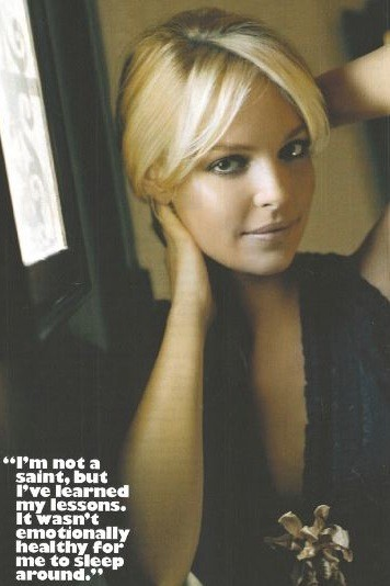 Katherine Heigl: Opinionated, Delightfully