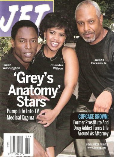 Isaiah Washington, Chandra Wilson & James Pickens, Jr.