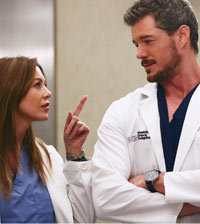 Mark Sloan and Meredith Grey