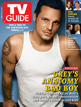 Justin Chambers on the cover of TV Guide