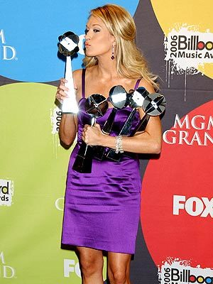 Carrie and Her Trophies