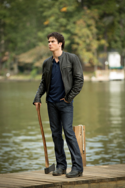 Damon on the Dock