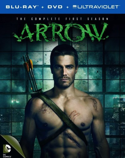 Arrow blu-ray cover