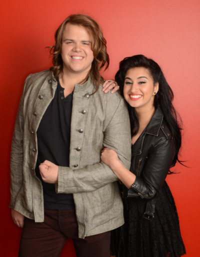 Caleb Johnson and Jena Irene