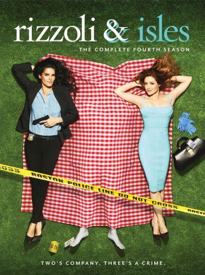 Rizzoli & Isles season 4 DVD